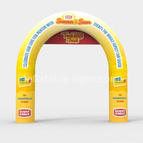 inflatable arch-custom-made